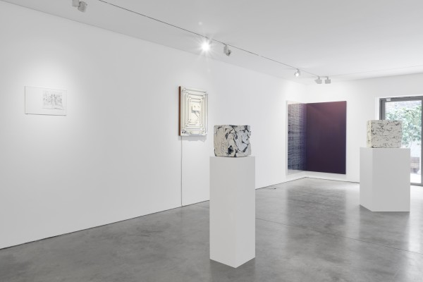 Installation View Of New Work Material At Cob Gallery Left To Right Willa Hilditch Nick Doyle Fernando Casasempere Dean Levin Courtesy Of Cob Gallery