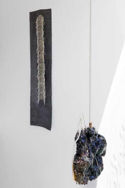 New Work Part Ii Material Exhibition View At Cob Gallery London Linne A Sjo Berg Agata Ingarden Courtesy Of Cob Gallery London Photo Benjamin Westoby 2