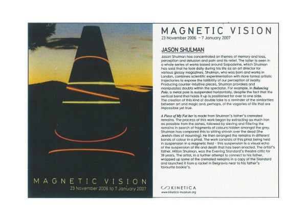 Magnetic Vision