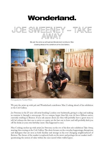 Joe Sweeney - Take Away