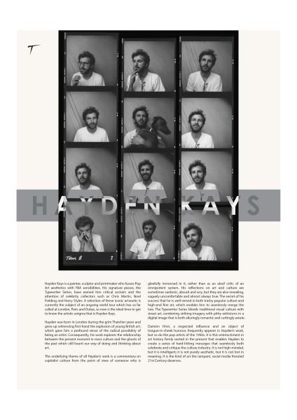 Tirade Magazine - Hayden Kays