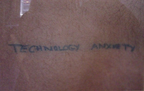 Andrew Castrucci, Technology and anxiety, 1998