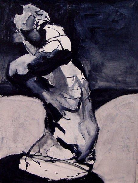 Zachary Yorke, Blue Barnman, 2004