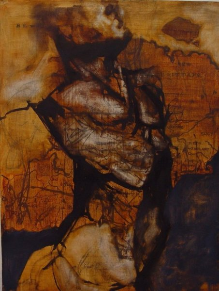 Zachary Yorke, Orange Barman, 2004