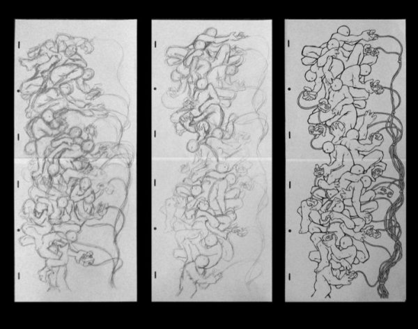 Patrick Smith, Drawing Remote Configuration 1, 2007
