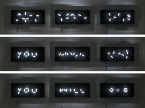 Rob Seward, YWD (You will die), 2007