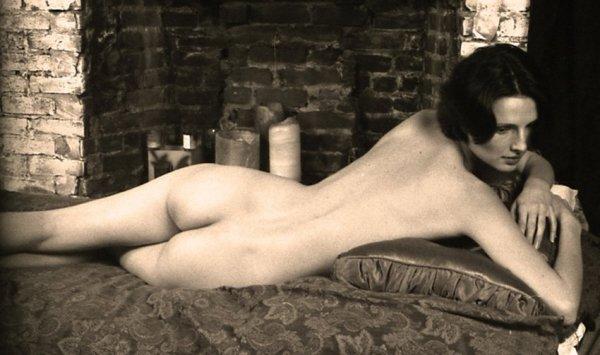 Robert Dimin, Reclining nude, 2007