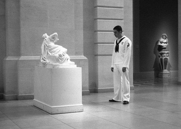 Robert Dimin, Lucretia, the sailor, and the aristocrat, 2006