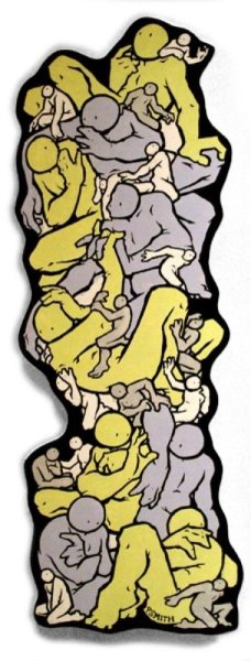 Patrick Smith, Small column 6, 2008