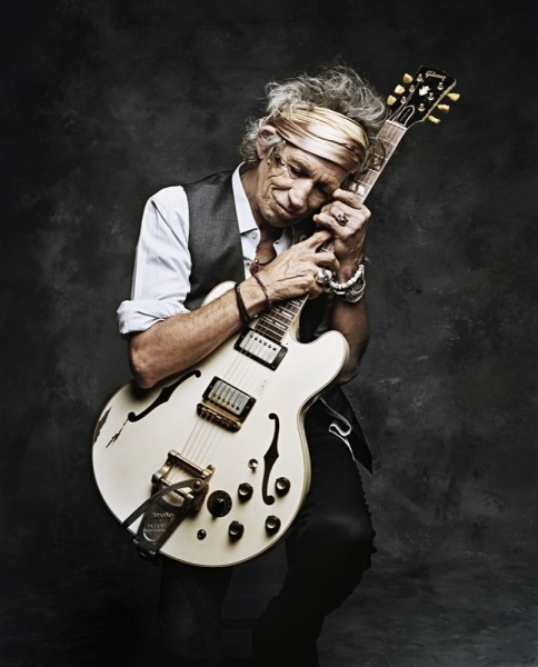 Francesco Carrozzini, Keith Richards, New York, 2008