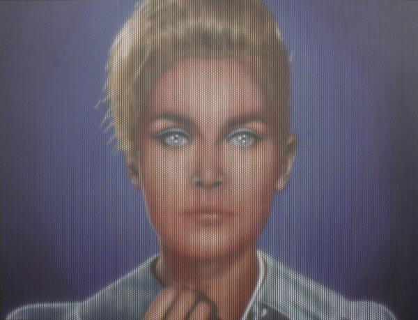 Cristiano Pintaldi, Untitled (Woman Blue)