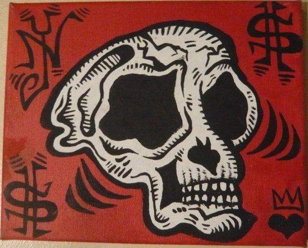 Damon Johnson, Monkey Skull, 2008