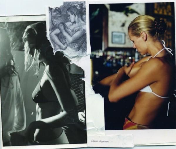 Robert Dimin, Models & Dancer, 2002