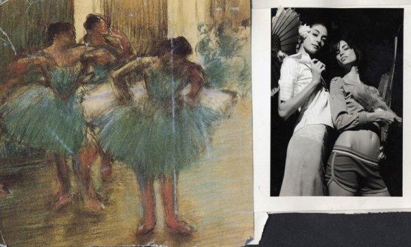Robert Dimin, Annie, Danika & Degas, 2002