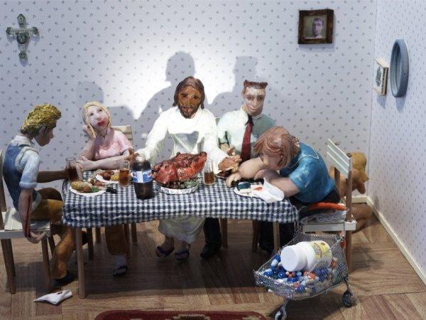 Joffrey Jans & Christophe Lopez-Huici, the last supper, 2005
