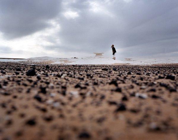 Giada Ripa, White desert, 2002