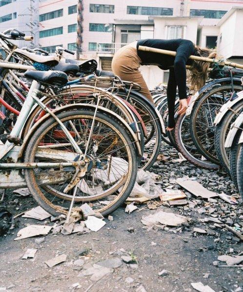 Giada Ripa, bike, 2003