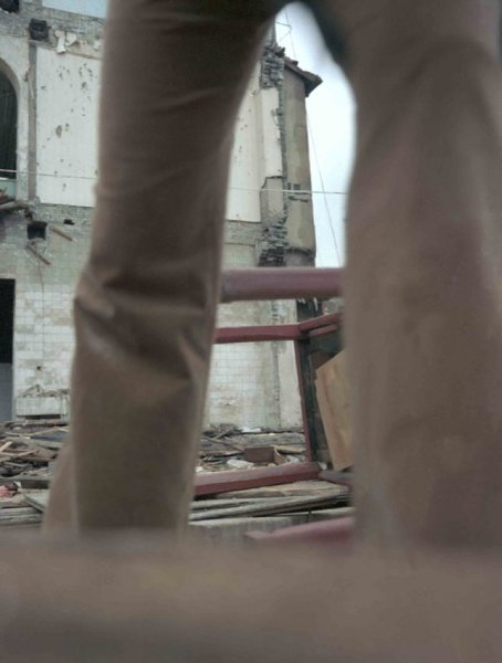 Giada Ripa, Walking Demolition, 2003