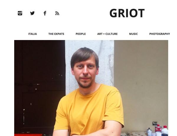 Marcin Dudek in Griot