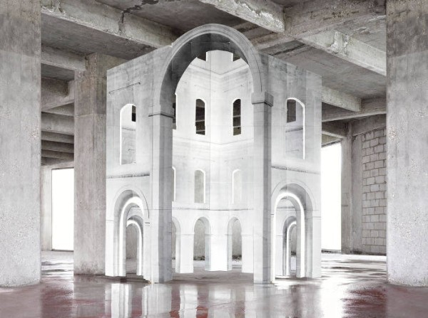 Noémie Goudal, In Search of The First Line III (2014)
