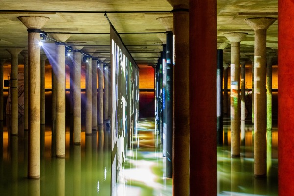 Anri Sala at Buffalo Bayou Park Cistern, Houston