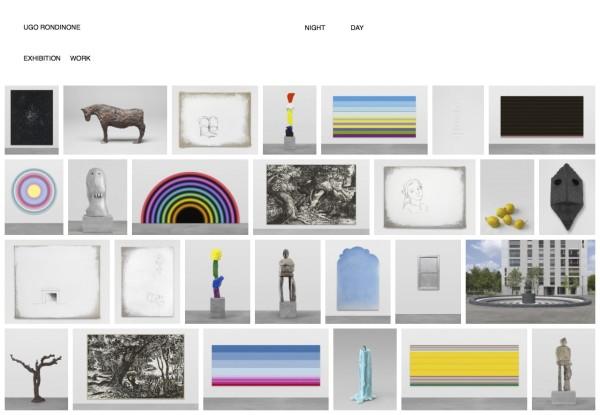 Ugo Rondinone Launches New Website