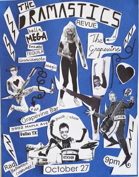 DRAMASTICS Revue Rock Concert and Film Screening