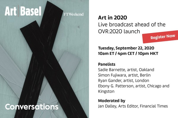 Art in 2020 - Live Broadcast by Art Basel with Simon Fujiwara and Ryan Gander