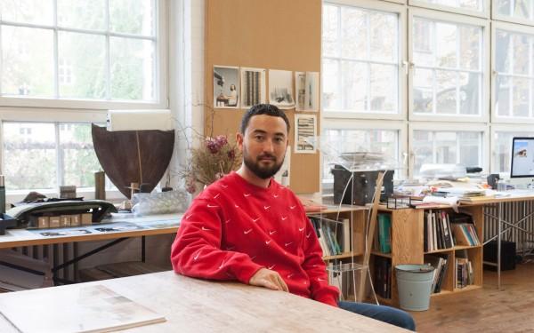 In the Studio – Simon Fujiwara