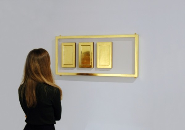 And somehow we're meant to be Perfect on view at Nicole Wessall: Precious Mettle