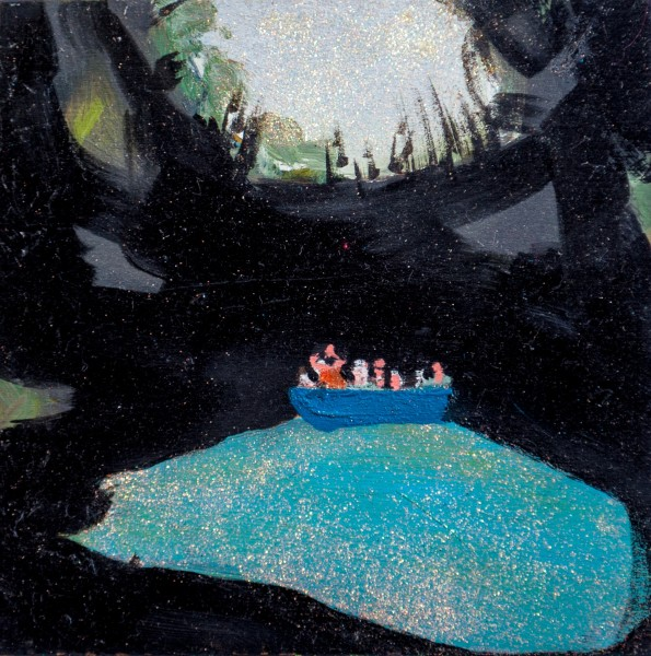 Melora Griffis, beyond all boating, 2017