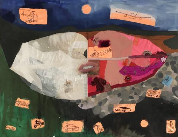 Melora Griffis, la mer prière, 2018