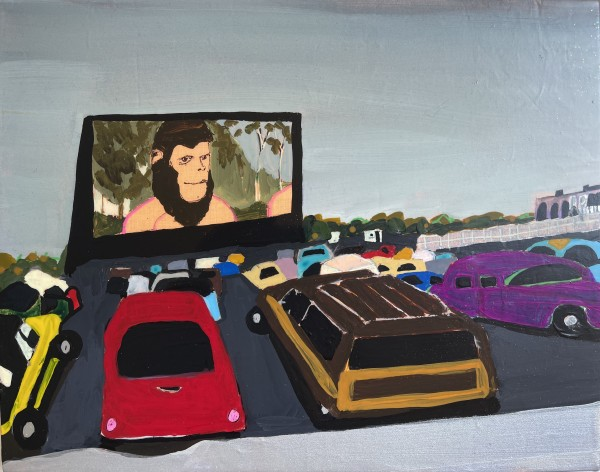 Melora Griffis, drive-in, 2021