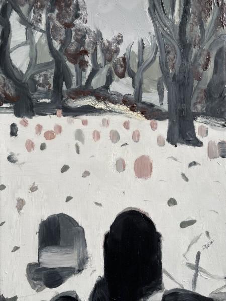 Melora Griffis, graveyard, 2021