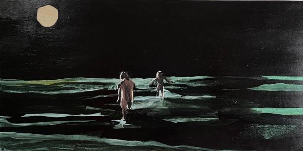 Melora Griffis, night swim, 2021