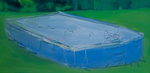 Melora Griffis, in the pool, 2016