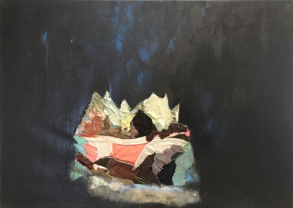 Melora Griffis, grief cave 1 (his), 2018