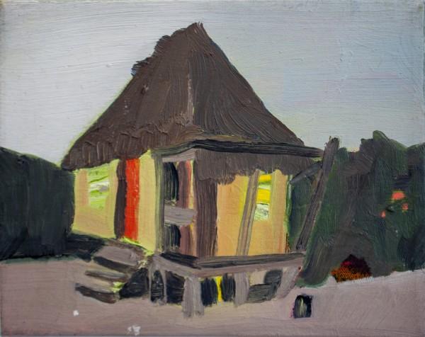Melora Griffis, beach hut /2, 2016