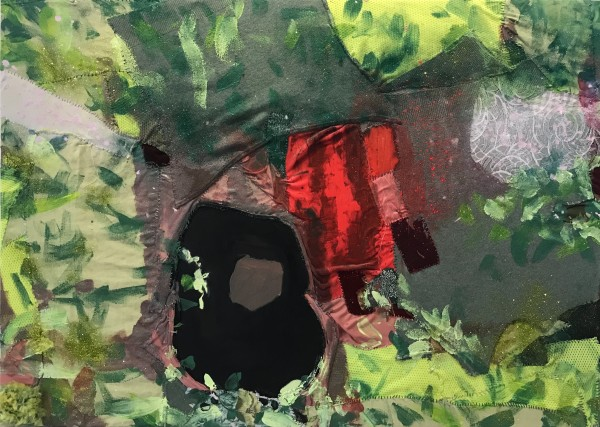 Melora Griffis, grief cave 1 (hers), 2018