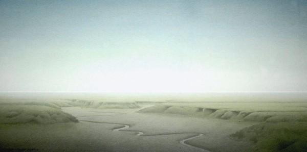 Brancaster saltmarsh, 2007
