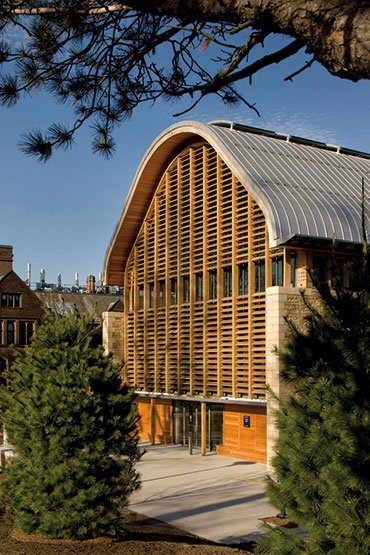 yale university kroon hall school of forestry and