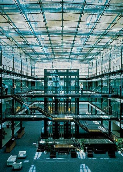 West End Auto >> New Square, Bedfont Lakes | Hopkins Architects