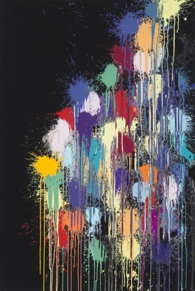 Colour Splat Cloud, Edge, Slide