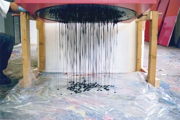 Making a Circle Painting, 2003