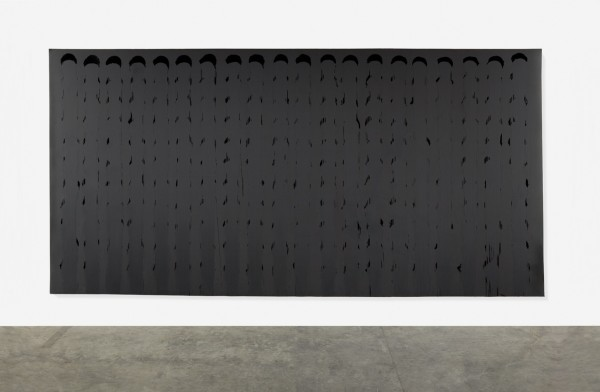 Large Matt Black Painting, 1989