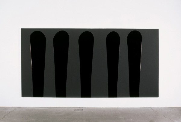 Untitled Matt Black, Gloss Black, 1990