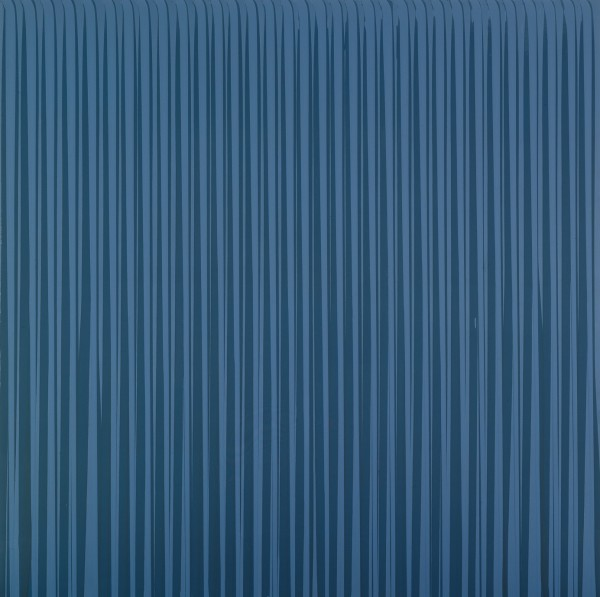 Poured Lines: Mid Grey, 1993
