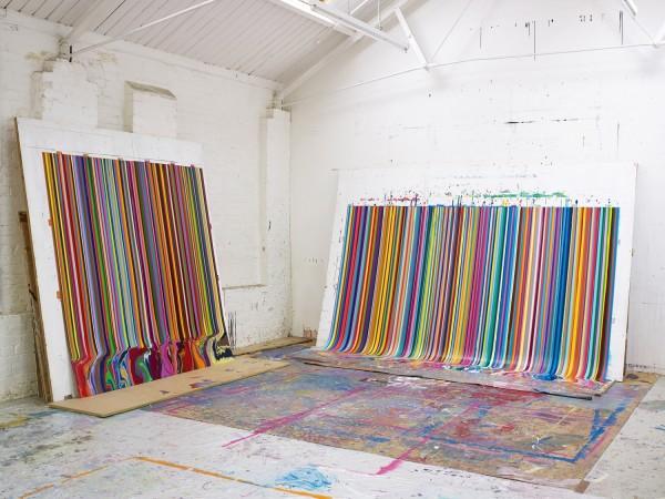 The artist's studio , 2013