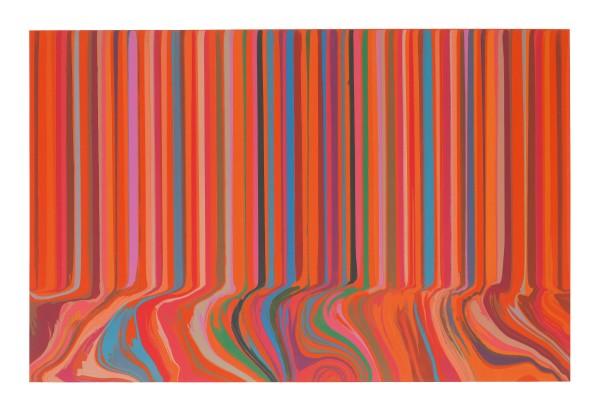 Colourcade Buzz Red and Orange Mirrored , 2017