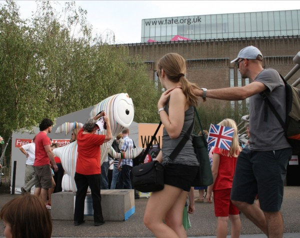 Arty Wenlock Olympic Project, 2012